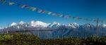 Nepal Blick auf Ganesh Himal