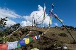 Nepal Gebetsfahnen Nagthali 1