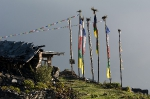 Nepal Gebetsfahnen Nagthali 2