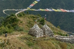 Nepal Mani Mauer bei Nagthali